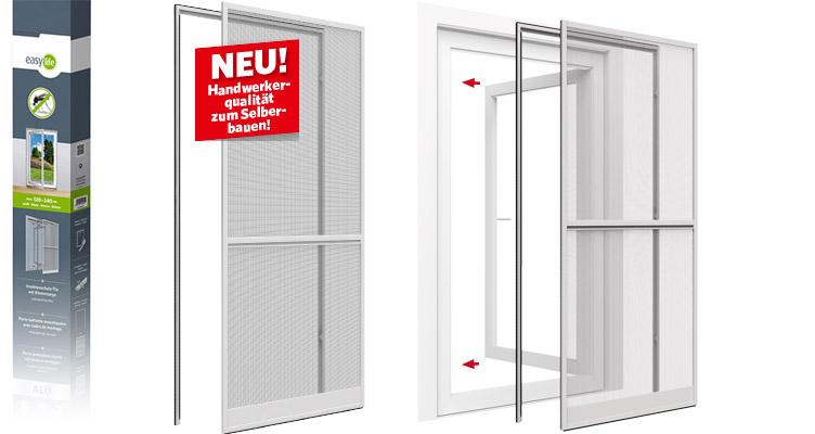 XL Insektenschutz-Tür