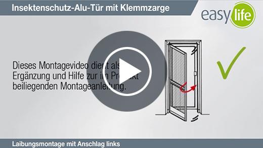 Film z instrukcją montażu drzwi moskitierowych z ościeżnicą