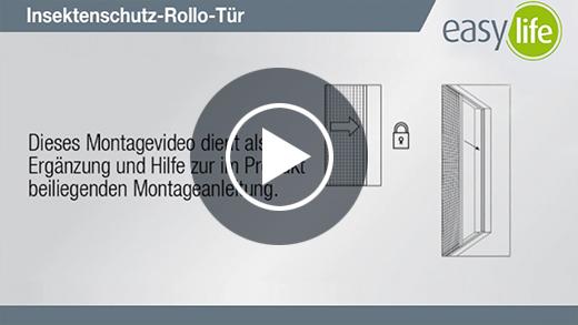 Film z instrukcją montażu Rolety drzwiowe